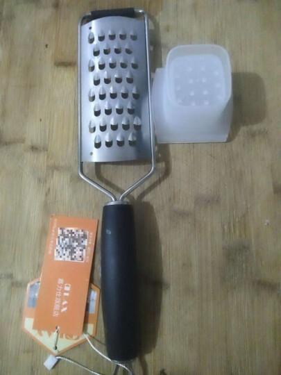 嘉力仕 不锈钢刨丝刀 芝士奶酪巧克力柠檬萝卜土豆果蔬刨擦丝器 大粗孔单柄刨/单个 晒单图