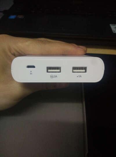 品胜(PISEN)20000毫安 移动电源/充电宝 双USB输出 液晶数显 LCD电库二代 白色 适用于苹果/三星/华为/小米手机/平板等 晒单图