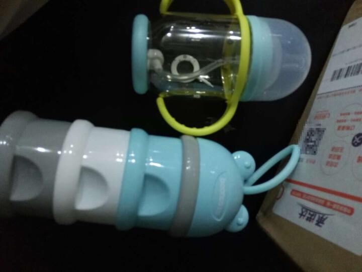 贝能(Baoneo)  婴儿奶瓶宽口径带手柄宝宝防摔防吐奶防胀气硅胶奶瓶 玫红280ML-奶瓶(德国进货PPSU) 晒单图