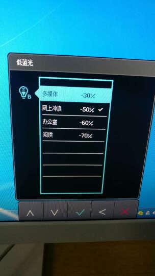 明基(BenQ)VZ2750 27英寸AMVA+广视角窄边框降闪烁滤蓝光 爱眼电脑显示器显示屏(DVI/VGA接口) 晒单图