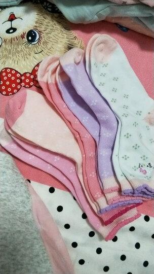凯蒂猫(HELLOKITTY)儿童袜子女童秋冬卡通可爱中筒女孩宝宝短袜KT3190混色5双装16-18cm 晒单图