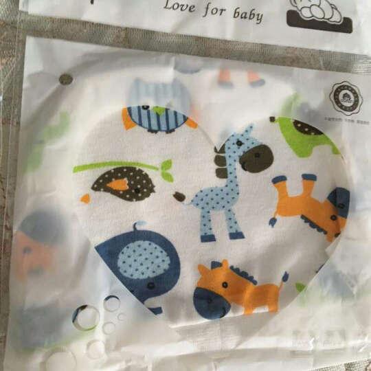 妈妈果 婴儿帽子春秋季纯棉新生儿宝宝儿童男童女童胎帽0-3个月 女宝宝3顶 0-3个月 晒单图