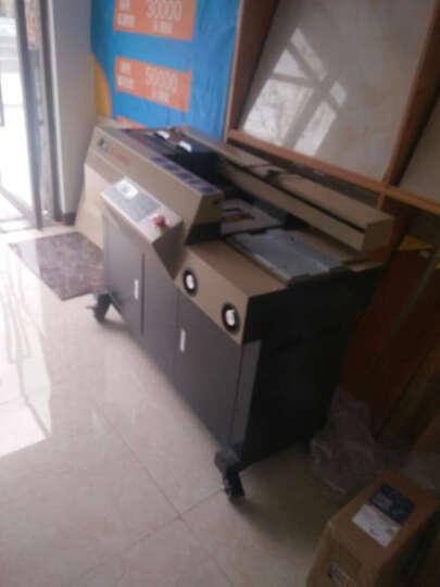 道顿 DC-8600DA 无线全自动 A4幅面 柜式胶装机标书文件书籍论文报告合同热熔胶粒装订机 晒单图