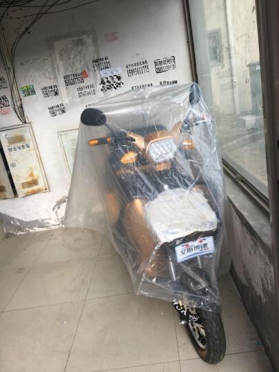 SBIRD /艾斯博德老年代步车双人电动三轮车客货两用车残疾人电动车老人三轮车 炫丽红800W48V20A锂电池加充电器 晒单图