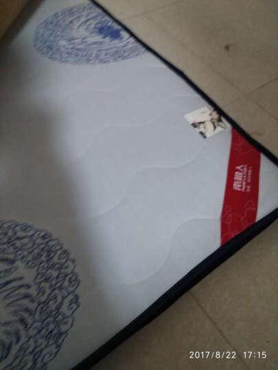 京精家居 记忆棉床垫1.8m可折叠海绵床垫 1.2米记忆海绵床垫 地铺加厚榻榻米床垫 蓝颗粒波浪厚度10cm 1500*2000 晒单图