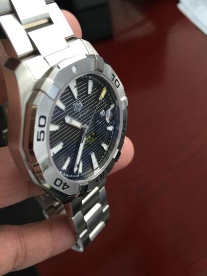 泰格豪雅(TAG Heuer)手表 竞潜男士系列机械表WAY2010.BA0927 晒单图