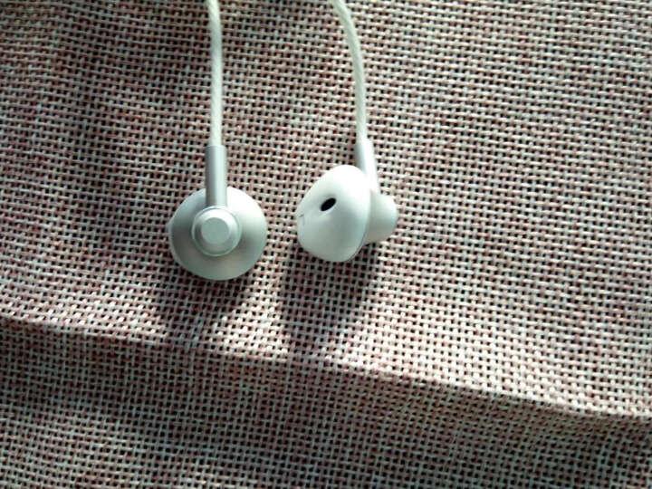 兰士顿 F9耳机入耳式 重低音通用男女生 k歌耳机 音乐耳机 安卓苹果手机通用耳塞式唱歌带麦电脑耳机 晶银色 晒单图