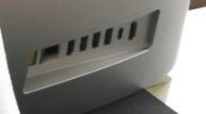 联想(Lenovo)AIO 300 23英寸一体机台式电脑 ( i3-6006U 4G 1T 2G独显 WiFi 蓝牙 Win10 )白色 晒单图