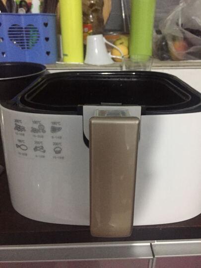 现代(HYUNDAI) 空气炸锅机家用四代 无油电炸锅薯条机 2.5L液晶数码显示触控式 LF-7515【液晶屏数码显示 触控操作】 晒单图
