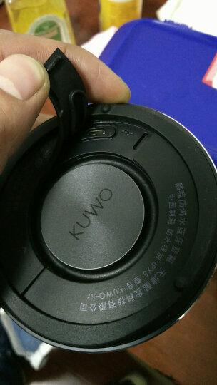 酷我(kuwo)S7 喷喷防淋水蓝牙音箱 小钢炮蓝牙音响 银色 晒单图