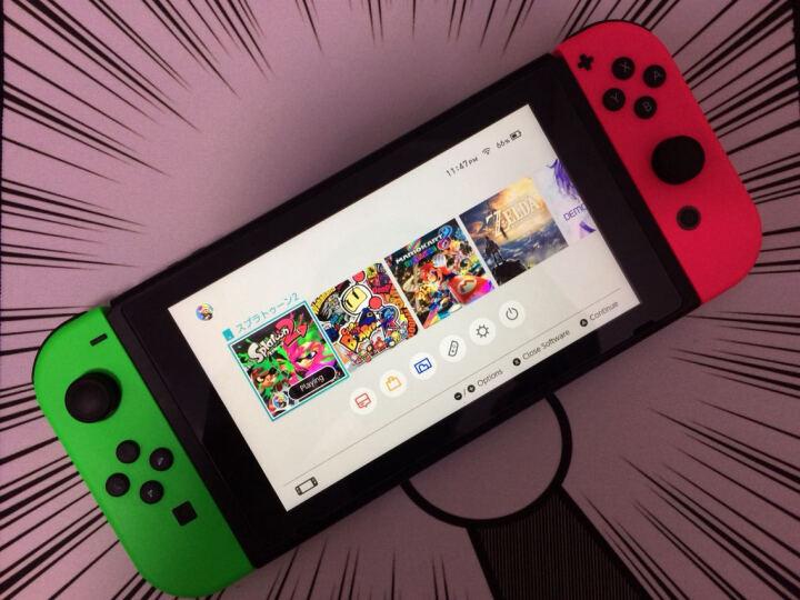 任天堂(Nintendo) 成聚游戏 任天堂Switch NS 掌机 switch主机 32G 喷射战士2 限定 官方标配 晒单图