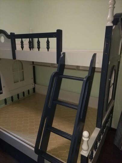 尊范(ZUF) 高低床 实木床上下床 上下铺双层床 买床立送配套床垫 两门衣柜 1500*1900 晒单图