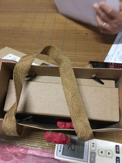 物有物语 礼品包装盒 牛皮纸礼品盒礼品袋大号包装盒子长方正方形生日礼物 褐色 红玫瑰A款(无小熊 花束) 小号+礼袋【16*16*6cm】(黑色盒子请备注) 晒单图