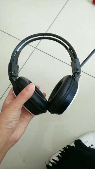 泊菲客 T7 四六级听力耳机大学英语四级六级ab级三级专用调频fm音频af学生考试头戴式 黑蓝耳机+电脑带麦音频线+送电池 晒单图