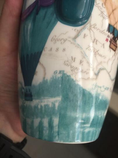 爱屋格林杯子 陶瓷马克杯 咖啡杯创意大容量水杯情侣带盖设计师款 500ML 告白气球3LTM5232N 晒单图