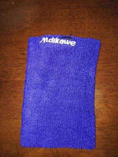 曼迪卡威夏季男女运动护肘 吸汗护臂 保暖护腕 深蓝色 17CM 晒单图