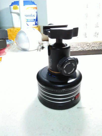 AFI 电动自动全景云台 拍摄云台相机自拍遥控器延时接片拍摄单反相机360度微MRA01 MRA01全景电动云台黑色 晒单图