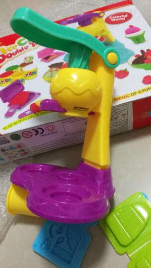 乐乐屋 儿童面条机玩具理发师橡皮泥挤头发彩泥模具工具套装粘土 牙医玩具拔牙象皮泥冰淇淋机雪糕机女孩 8818B烧烤台 晒单图