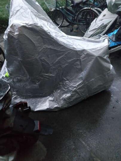 吉所能(TOTHBR) 车罩 车衣 防雨罩 摩托车电动车自行车助力车防晒遮阳 小号 晒单图