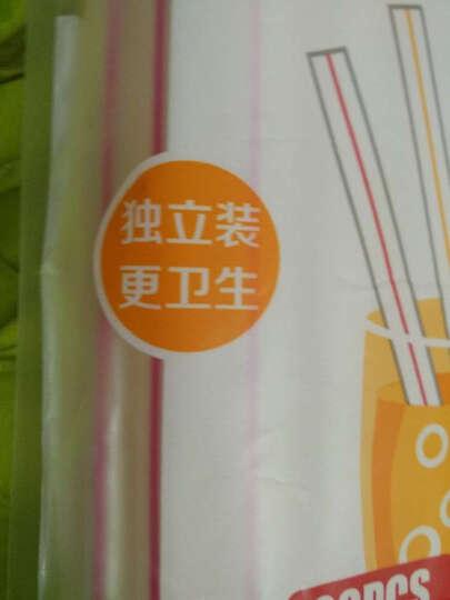 宜洁 粗吸管一次性奶茶珍珠吸管20只装Y-9777 晒单图