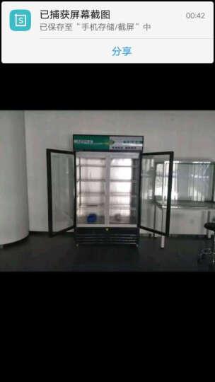 乐创(lecon)立式冰柜双门展示柜冷藏保鲜三门商用冰箱饮料超市冷柜水果厨房陈列柜凉菜点菜柜直冷风冷 双门红黑色风冷款 多色可选 晒单图