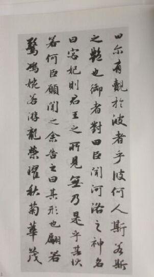 元赵孟頫书洛神赋/历代碑帖法书选 晒单图