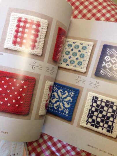可单片使用的100种北欧风棒针编织花样 晒单图