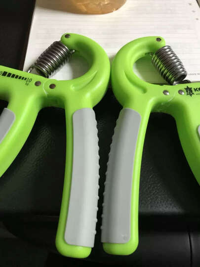 可力KELY R型握力器可调 男士女士手指腕力训练器 草绿色 进阶级10-40KG 晒单图