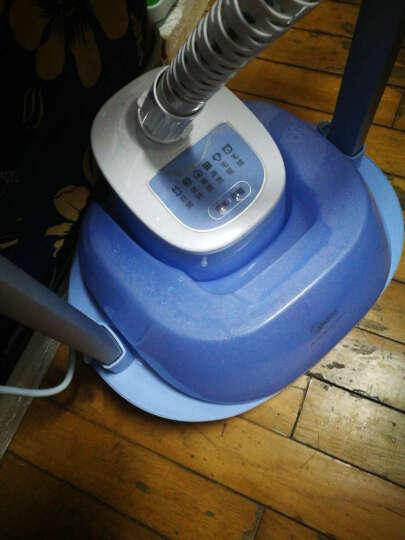 美的(Midea)2L 双杆 蒸汽挂烫机 家用手持/挂式电熨斗MY-GD20D5(蓝色) 晒单图
