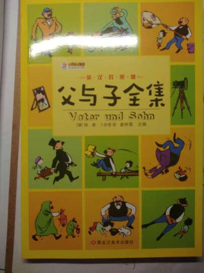 父与子全集(彩色双语版)中英对照 中英双语阅读父与子漫画小说图书全集少儿童书读物经典 晒单图