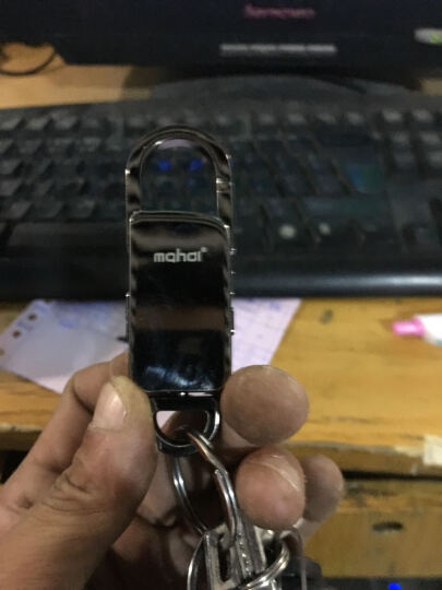 mahdi麦迪 锌合金智能声控自动录音笔专业会议高清学习mp3 炫酷黑8G+送高保真耳机 晒单图
