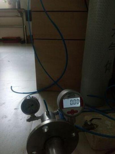美控 压力表2.5 不锈钢数显压力表数字耐震气压水压油压液压负压真空0-1.6MPa精密压力表 -0.1-0.1Mpa M20*1.5螺纹 晒单图