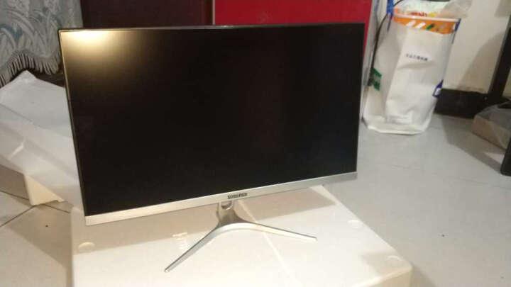 松人(SONGREN) 24英寸液晶显示器 IPS窄边框高清电脑显示屏 磨砂银 晒单图