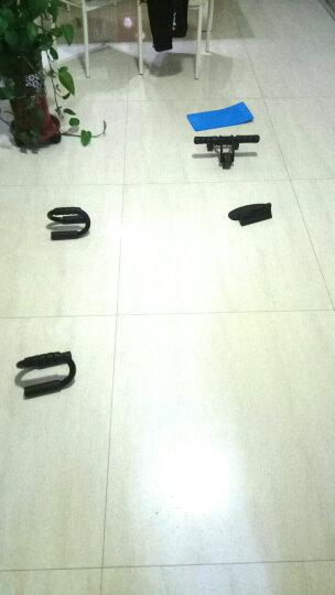 凯速(KANSOON) 凯速 健腹轮腹肌轮俯卧撑轮健身器材家用稳定轴承滚轮滑轮巨轮 红黑四轮健腹轮 晒单图