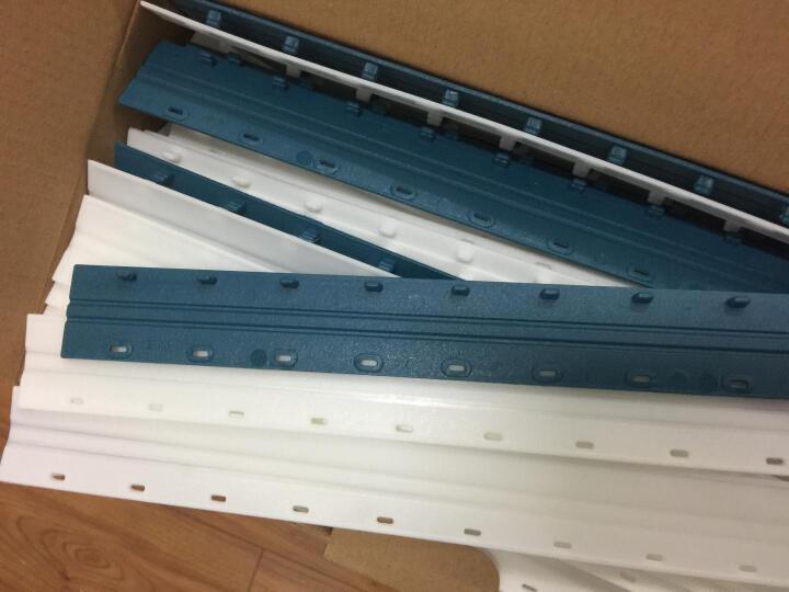 科朗鑫盛(BKL)装订胶圈 21孔梳式装订环装订机耗材 黑白蓝 蓝色 51mm 晒单图