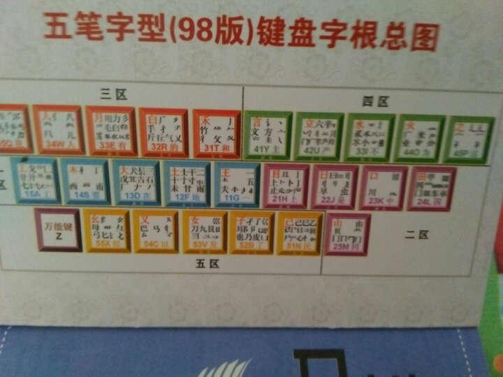 正版 五笔字型口袋字典(双色版)五笔字典 新手五笔打字速成教程书 五笔打字 自学五笔 晒单图
