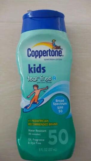 美国 水宝宝 Coppertone水宝宝儿童无泪防晒乳 SPF50 237ml  晒单图