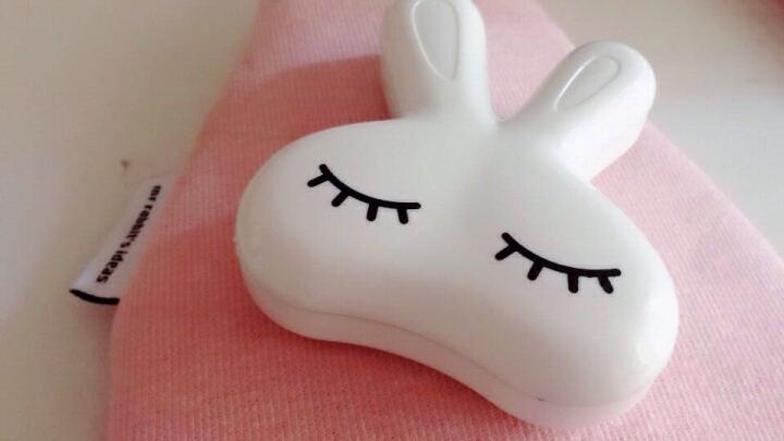 世纪凯达 隐形眼镜护理盒 美瞳盒收纳盒隐形眼镜清洗盒 白色 晒单图