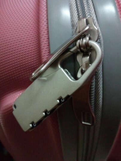 泊客行者Blomberg糖果色拉杆箱20英寸ABS材质可登机6454荧光黄 晒单图