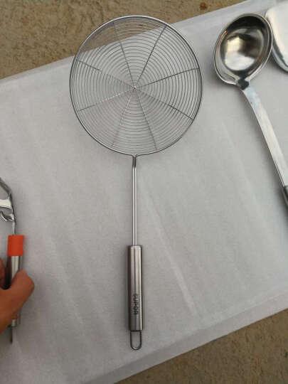 苏泊尔(SUPOR) 不锈钢多功能自由组合配件 炒菜铲子 捞勺 滤网捞面条 大汤勺-KT03C2 晒单图