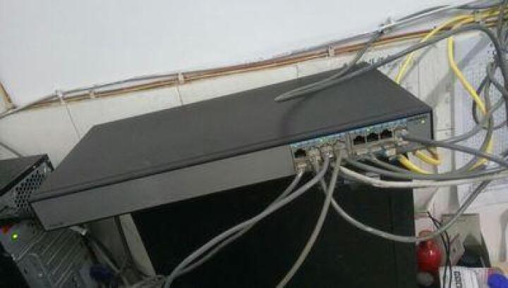 华为(HUAWEI) S1700-16R-AC 企业级16口非网管全百兆交换机 晒单图