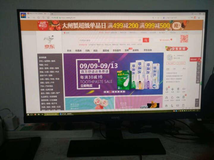 明基(BenQ)GL2706PQ 27英寸2K分辨率1ms响应旋转升降支架 电脑显示器显示屏(DP/HDMI/DVI接口) 晒单图