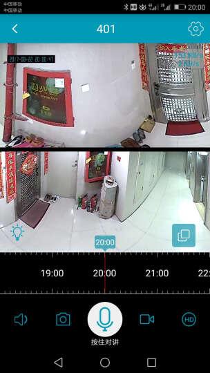 JFA嘉福安 360度全景鱼眼摄像头 无线wifi智能网络摄像机 晒单图