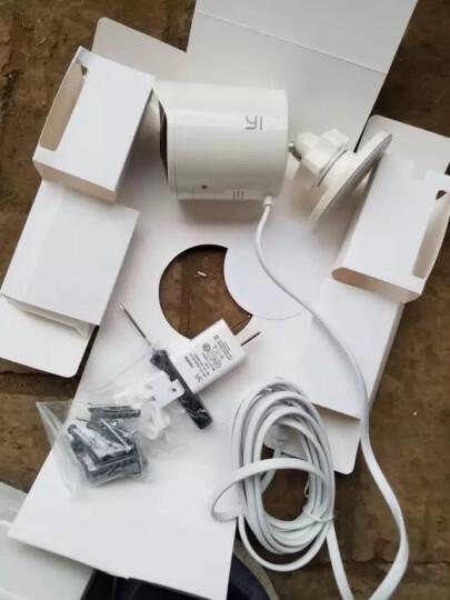 小蚁(YI)智能摄像机3代云台AI升级版1080P 无线WiFi高清家用摄像头夜视 360度监控器 支持小米苹果手机远程 晒单图