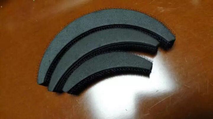 增高器刘海蓬蓬贴发夹套装发垫 简易方便不卡发  丸子头花苞头蓬松造型美发工具 三个编发器 晒单图