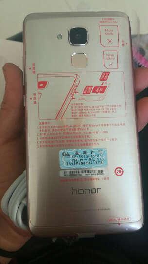 华为(HUAWEI) 荣耀 畅玩5C 全网通4G智能手机 双卡双待 落日金 全网通高配版(3G+32G) 晒单图