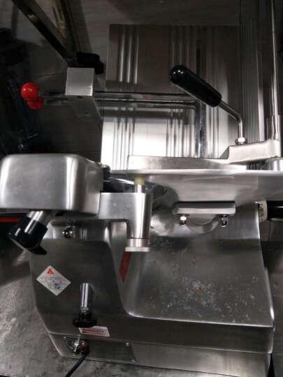 天地人 10寸半自动羊肉切片机 刨肉机切羊肉卷机切羊肉片机 商用肥牛羊肉卷切片机刨肉机全自动刨片机 10寸半自动SS-M2000V 晒单图