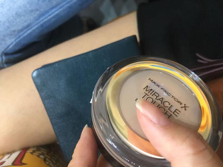 蜜丝佛陀(MAXFACTOR) 粉底粉饼清透遮瑕保湿 75#麦芽色 晒单图