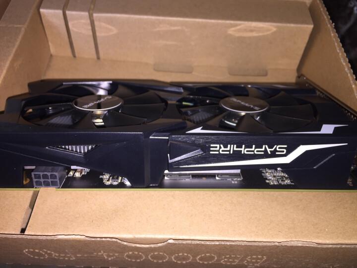 蓝宝石 (Sapphire) RX560D 4G D5 白金版 OC(75W) 1216MHz/6000MHz 4GB/128bit GDDR5 DX12游戏独立显卡 晒单图