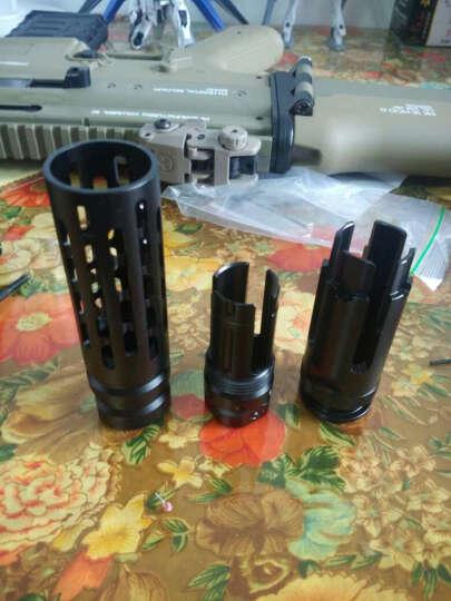 锦明8代下供弹M4玩具枪金属消音火帽器可调节NERF玩具专用装饰金属配件仿真模型 地狱使者帽 晒单图